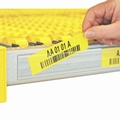 Zelfklevende etikethouder voor stellingbreedte 1900 mm